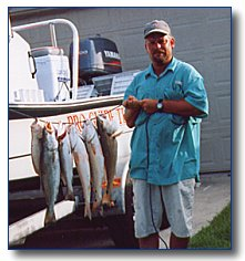 Capt. Fred George - Bay Bound Guide Service